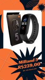 MiBand 5 Novo (lacrado) e com Garantia