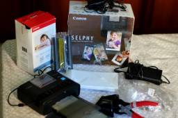 Canon Selphi cp1300 kit de impressão + alicate de corte p fotos 3x4