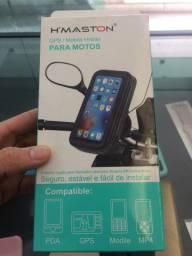Suporte de aparelhos celulares para moto