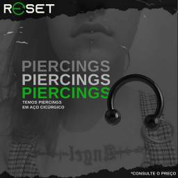 Vendemos e colocamos piercing