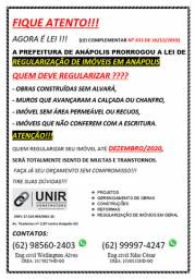 Regularização de imóveis em Anápolis
