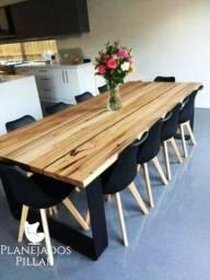 Promoção de Mesas de Jantar em Madeira Maciça