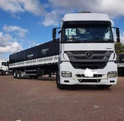 Caminhão Mb 2544 2015 6x2 + Carreta Facchini Graneleira 2020