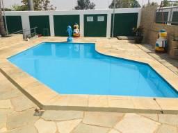 Título do anúncio: Chalé em caldas, piscina, sauna ótima localização.