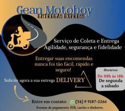 Motoboy preço fixo toda Uberlândia