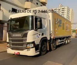 Título do anúncio:  Scania P320 8x2 2019/2019 Com Baú Frigorifico + Contrato de serviço em São Carlos