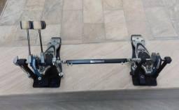 Título do anúncio: Pedal Duplo Pearl Eliminator P2002B