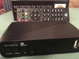 2 TVs LG 21 polegadas tubo + Conversor Digital Imagevox + controle remoto