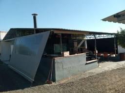 Título do anúncio:  Oportunidade Vendo Cobertura + Container para Bar Rancho Depósito Lava Rapido