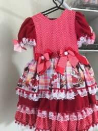 Vestidos juninos infantis