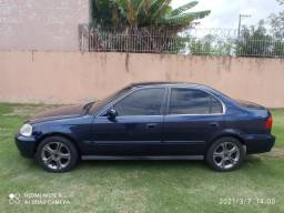 Honda Civic 00/00 manual + motor novo