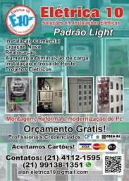 Padrão Light (RELÓGIO/MEDIDOR)