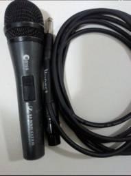 Título do anúncio: Microfone com fio