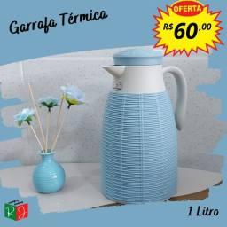 Título do anúncio: Promoção: Linda Garrafa Térmica de 1L