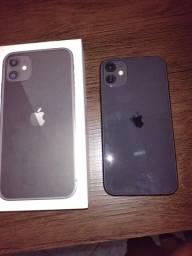 iPhone 11 zerado 9 dias d uso nota fiscal carregador e capa original