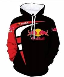 Blusa de frio RedBull Racing Moletom agasalho