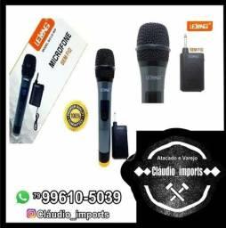 Título do anúncio: Microfone sem fio da lelong modelo 909