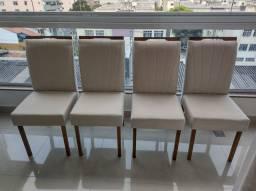 Título do anúncio: Conjunto 4 cadeiras