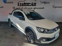 Título do anúncio: VW Saveiro Cross 1.6 Cabine Dupla 2019 Baixo KM