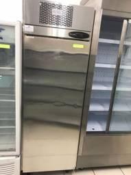 Freezer Vertical aço inox 304