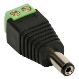 Kit 10 Conector Plug P4 Macho