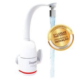 Título do anúncio: Torneira Elétrica Touch Prima  Bancada e Parede 5500W 127V Zagonel Branco
