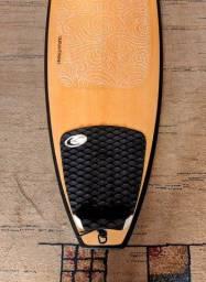 Prancha Surf Powerlight Faca Na Manteiga incluso Deck + película Waxtrak