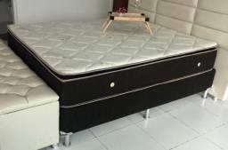 Cama cama cama cama cama colchão e base molas ensacadas