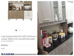 Armário de cozinha nicoli