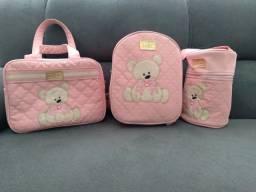 Bolsas maternidade bebê rosa