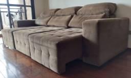 Título do anúncio: Sofá retratil reclinavel lindo