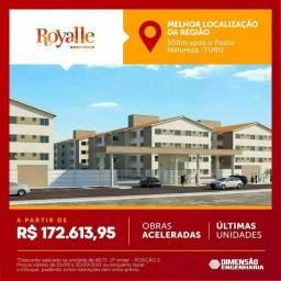 Título do anúncio: P/M: More na melhor região de São Luís , apartamentos com elevador e varanda