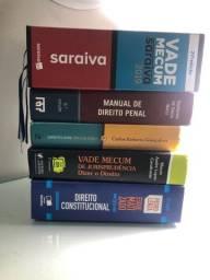Coleção livros jurídicos - Kit Direito