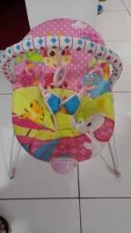 cadeira descanso vibratória rosa girafa mastelar