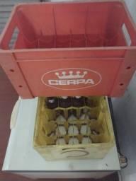 caixa de cerveja vazia 600ml