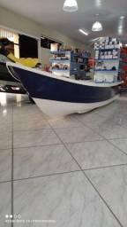 Título do anúncio: Barco Shark 4.0 / 100% fibra, novo