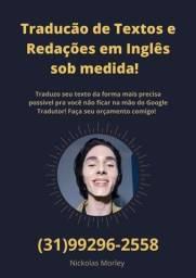 Título do anúncio: TRADUÇÕES inglês / português