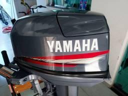 Motor de popa 25hp yamaha 2005 conservado por 15hp