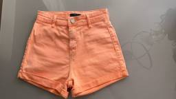 Título do anúncio: Short laranja young collection