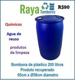Bobona plástica recuperada para armazenagem diversas produto de reuso