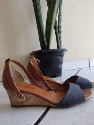 Sandália Bebecê jeans