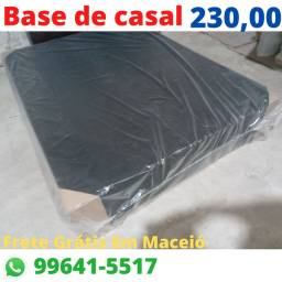 Base Casal e Solteiro/Cama Box