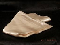 lenço de seda liso marfim importado