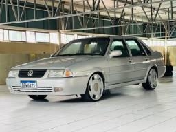 Título do anúncio: VW- Santana 2.0 ano 2000 Turbo Legalizado impecável