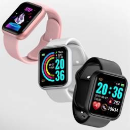 Título do anúncio: Smartwatch Barato FitPro Novo Y68 Original D20 Bluetooth Android iOS Monitor de Saúde