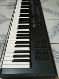 Teclado controlador M-áudio 61