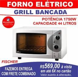 Forno Elétrico Fischer Grill  de Bancada 44L 1750W