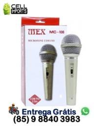 Título do anúncio: Microfone Com Fio Unimex Mc-106 Entrega grátis