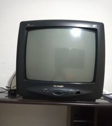 Título do anúncio: Televisão 14 polegadas com controle remoto