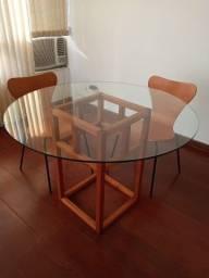 Mesa com cadeiras Tok Stok